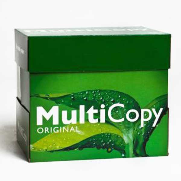 MultiCopy weiß Kopierpapier A4 75g/m2 - 1 Karton (2.500 ... Multicopy