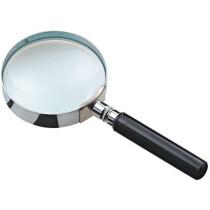 Wonday Leselupe mit Griff, rund, Durchmesser: 75 mm
