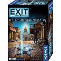 Kosmos Familienspiel EXIT Das Spiel - Die Entführung in Fortune City