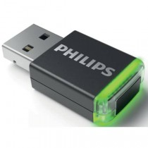 PHILIPS Adapter AirBridge Wireless-Adapter schwarz