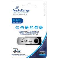 MediaRange USB Speicherstick 2.0, 8 GB