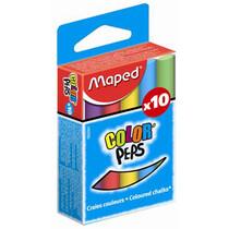 Maped Wandtafelkreide COLOR'PEPS, rund, farbig sortiert