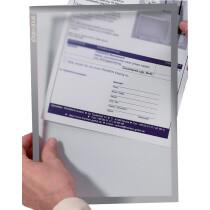 FRANKEN Magnet-Tasche FRAME IT X-tra!Line, DIN A4, grau