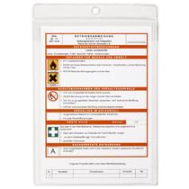 DURABLE Hänge-Sichttasche, DIN A5, Hochformat, PP, genarbt