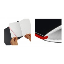 herlitz Notizheft my.book flex, A6, PP-Cover, transparent