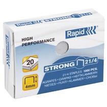 Rapid Heftklammer 24 6 Strong 1M 24855800 verzinkt Inhalt 1000 Stück