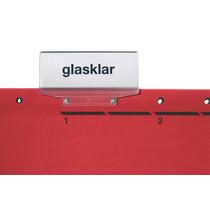 LEITZ Vollsichtreiter, PP, (B)60 x (H)33 mm, transparent