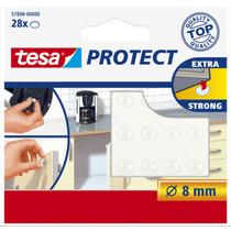 tesa Protect Lärm- Rutschstopper, rund, Durchmesser: 8 mm