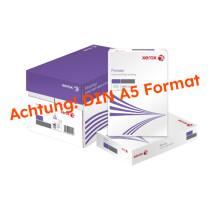 XEROX PREMIER WEISS Kopierpapier A5 80g/m2 (1 Karton; 5.000 Blatt)