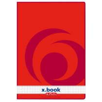herlitz Ringbuchblock x.book, DIN A4, 50 Blatt, kariert
