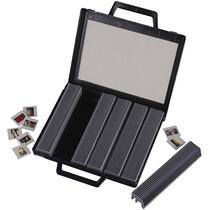 hama Dia-Magazine Koffer, flach, aufklappbar, schwarz
