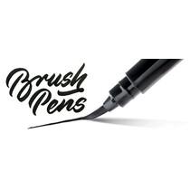 PentelArts Brush Pen Pinselstift, Gehäuse orange