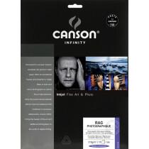 CANSON INFINITY Fotopapier Rag Photographique, 210 g qm, A4