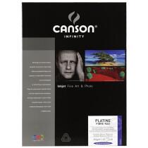 "CANSON INFINITY Fotopapier ""Platine Fibre Rag"", 310 g qm, A4"