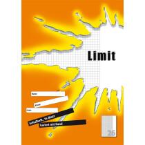 Limit Schulheft, DIN A4, Lineatur 27 9 mm liniert