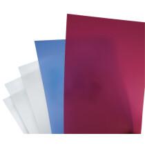 GBC Einbanddeckel PolyClearView, DIN A4, 0,35 mm,transparent