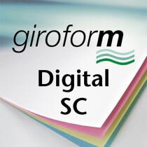PAPYRUS Durchschreibepapier Giroform Digital SC