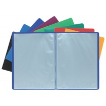 EXACOMPTA Sichtbuch, DIN A4, PP, 30 Hüllen, dunkelgrün