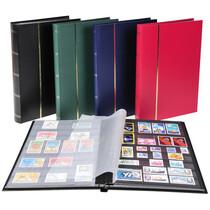 EXACOMPTA Briefmarkenalbum, 170 x 225 mm, schwarz, 32 Seiten