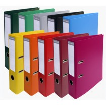 EXACOMPTA PVC-Ordner Premium, DIN A4, 50 mm, farbig sortiert