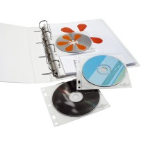 DURABLE CD DVD Cover FILE 5239-19 farblos