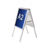 MAUL Plakatständer, DIN A0 - 825 x 1.173 mm, 2 Klapprahmen