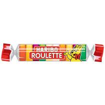 HARIBO Fruchtgummi ROULETTE Rolle, 25 g Rolle