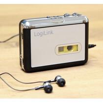 LogiLink Walkman, mit Konverter Funktion, schwarz silber