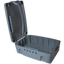 LogiLink Außen-Elektronikbox, wetterfest, IP54, anthrazit