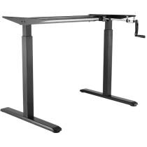 LogiLink Schreibtischgestell, manuell höhenverstellbar