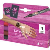 KREUL Tattoo Pen, 4er-Set