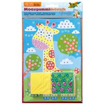 """folia Moosgummi-Mosaik """"Giraffe"""", 405 Teile"""