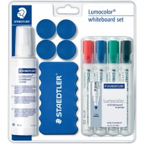 STAEDTLER Lumocolor Whiteboard-Set