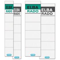 ELBA Ordnerrücken-Einsteckschild Rado Brillant, kurz schmal