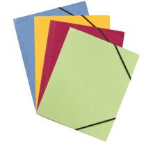 ELBA Eckspannermappe Carte Forte, DIN A4, farbig sortiert