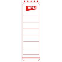 agipa Ordnerrücken-Etiketten, kurz breit, weiß