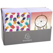EXACOMPTA Einsteckalbum Fantaisie, 120 x 160 mm, im Display