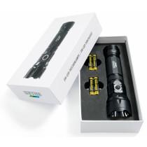 HEYCO LED-Taschenlampe, 3 W, schwarz , mit Signalleuchte