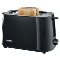 SEVERIN Automatik Toaster schwarz AT 2287 AT2287 schwarz