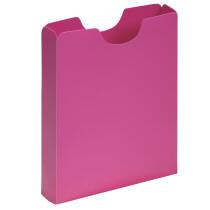 PAGNA Heftbox DIN A4, Hochformat, aus PP, rot