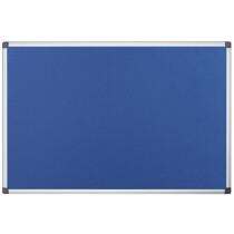 """Bi-Office Filztafel """"Maya"""", 1.800 x 1.200 mm, blau"""