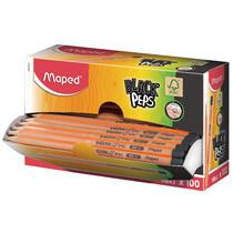 Maped Bleistift BLACK'PEPS, Härtegrad: HB, 100er Displaybox