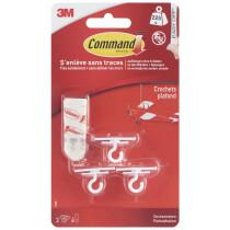 3M Command Decken-Haken, Kunststoff, weiß