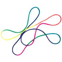 """folia Fadenschnur """"FingerTwist"""", 160 cm, regenbogenfarben"""