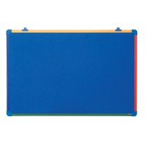 "Bi-Office Kinder-Filztafel ""Schoolmate"", blau, 600 x 450 mm"