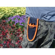 Garten PRIMUS Universal-Gürteltasche, schwarz orange
