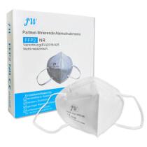 Atemschutzmaske FFP2 weiß, CE 0598 zertifiziert