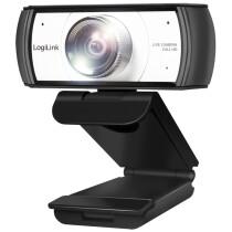 LogiLink Konferenz HD-USB-Webcam mit Dual-Mikrofon, 120 Grad